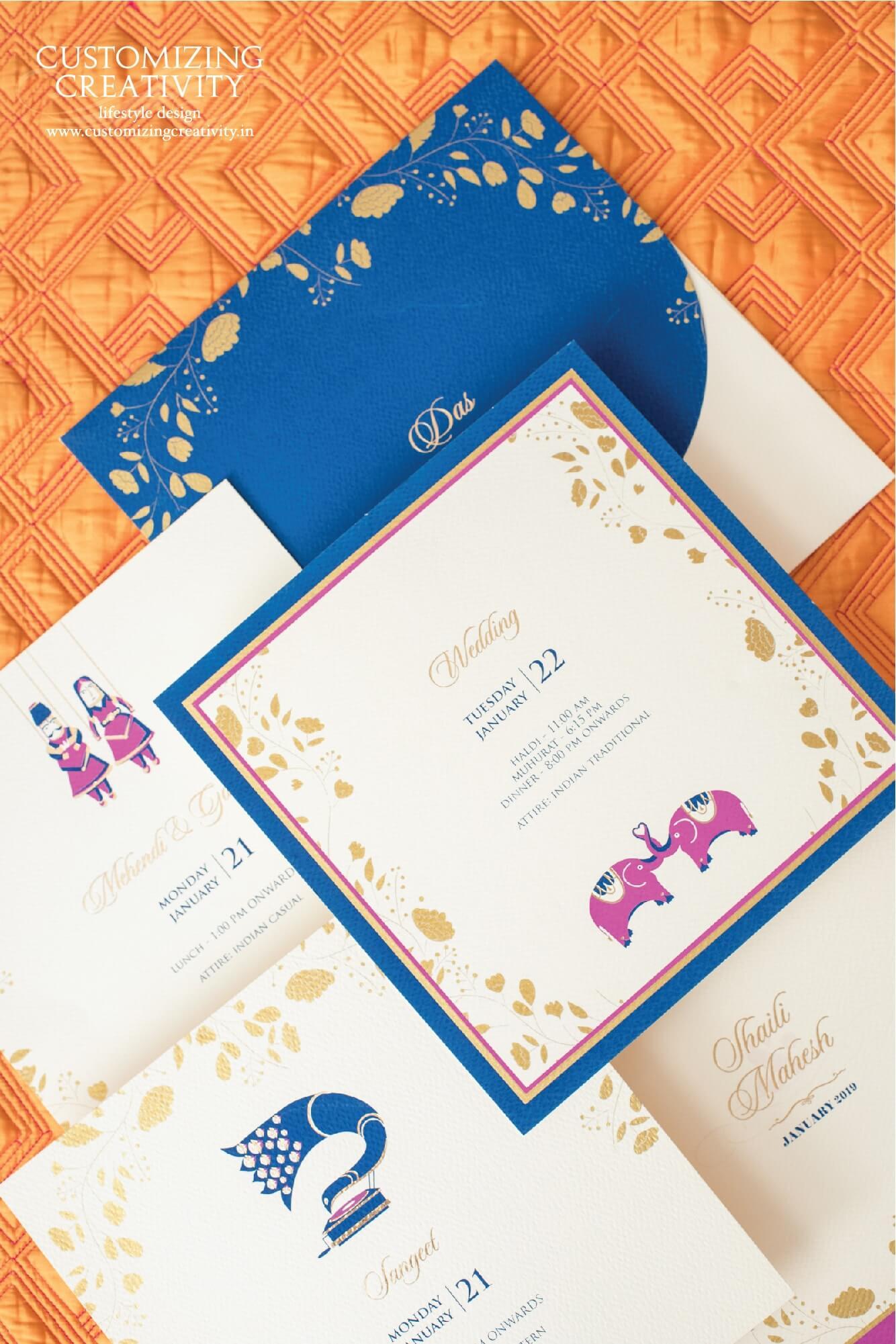 Customized Cards and Unique Wedding Invitations – Customizing Creativity