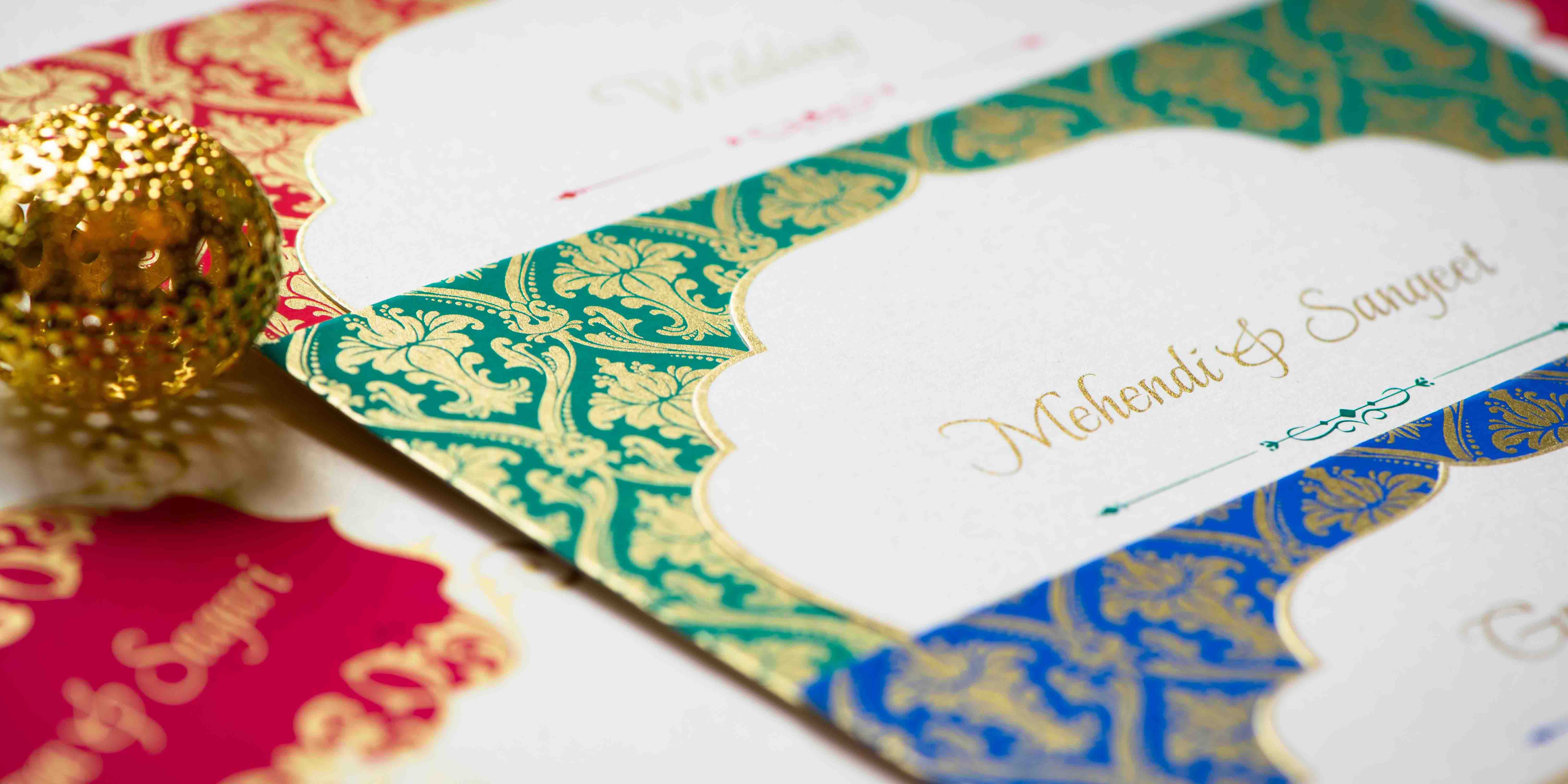 Customized Wedding Cards